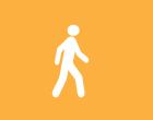 Local Motion Walk Icon